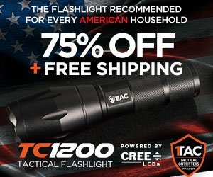 free Tactical light offer